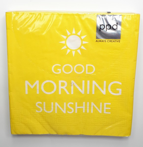 "Serviette ""Good Morning"""
