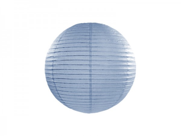 Laterne light misty blue 35 cm