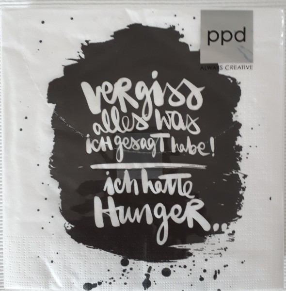 "Serviette ""Hunger"""