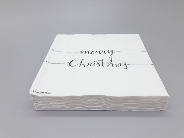 "Serviette ""Merry Christmas"""