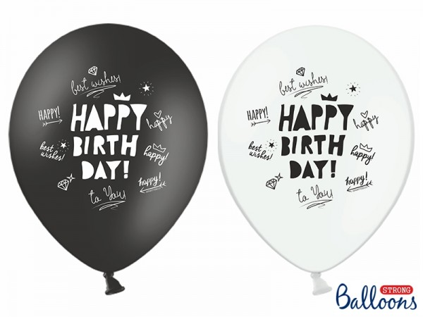 "Ballon Set ""Happy Birthday"""