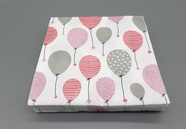 Serviette lovely Balloon