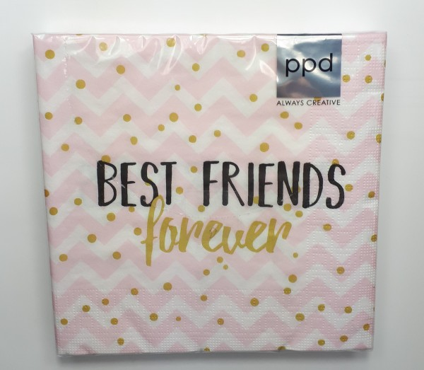 "Serviette ""best Friends"""