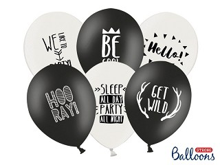 Ballons Party - Mix 6er Set